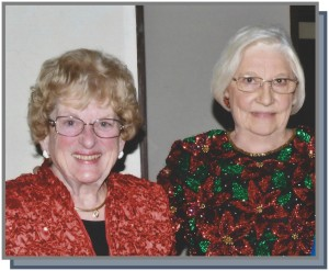 Pat Phillips and Ann Wolfram